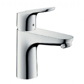 Hansgrohe Focus Single Lever Basin Mixer 100 Without Waste Set 31517000